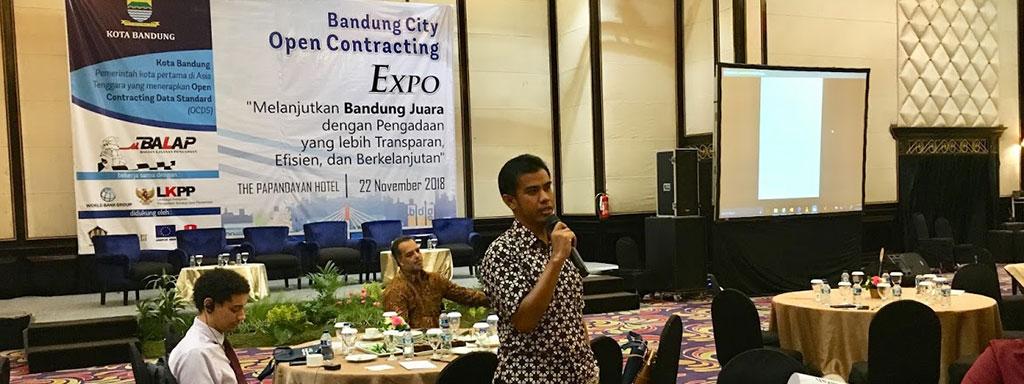 SIRMS menjadi bagian dari proyek percontohan Pemerintah Kota Bandung bersama World Bank dan LKPP